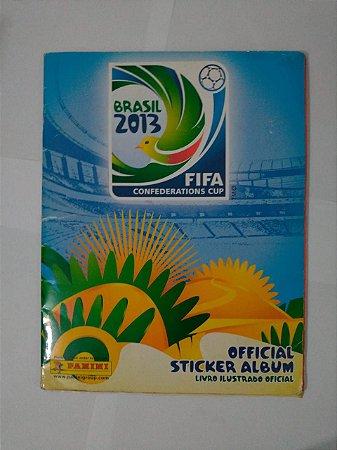 Álbum de Figurinhas - Brasil 2013: Fifa Confederations Cup - Completo