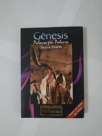 Gênesis: Palavras por Palavra - Nachman Szmuleicz/Maharaja