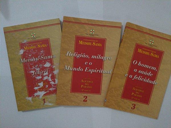 Coletânea Alicerce do Paraíso - Ensinamentos de Meishu-Sama C/3 Volumes
