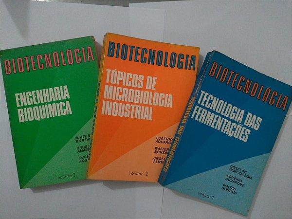 Coleção Biotecnologia - Urgel de Almeida Lima C/3 volumes