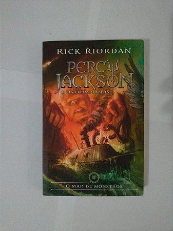 Percy Jackson e os Olimpianos: O Mar de Monstros - Rick Riordan ( Capa do Filme)