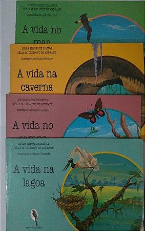 Série Natureza C/ 4 Livros - Neide Simões de Matos e Célia M. Delmont de Andrade