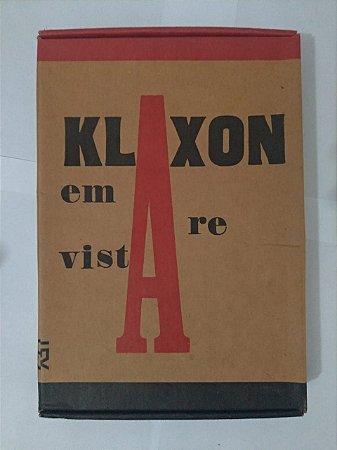 Box Klaxon em Revista: Mensário de Arte Moderna C/10 Revista