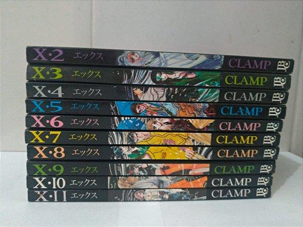 Coleção X-Clamp - 10 Volumes