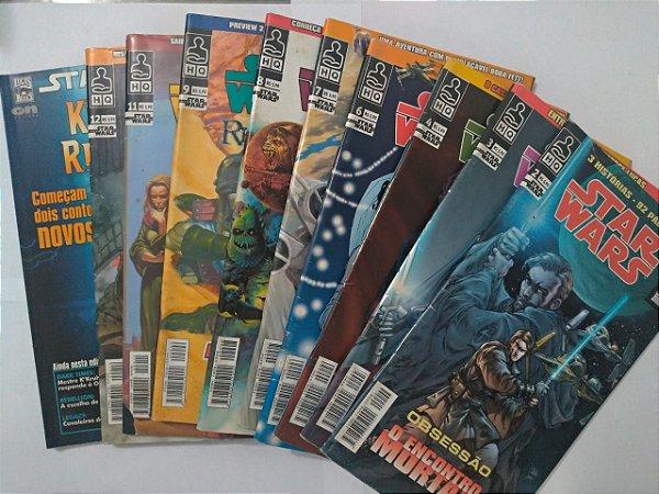 Coleção Star Wars - C/10 volumes