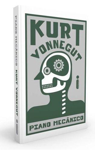 Lançamento !!! - Piano mecânico - Kurt Vonnegut - Novo e Lacrado - Capa dura