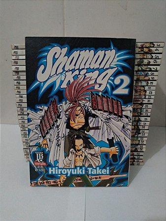 Coleção Shaman king - Hiroyuki Takei C/29 Volumes