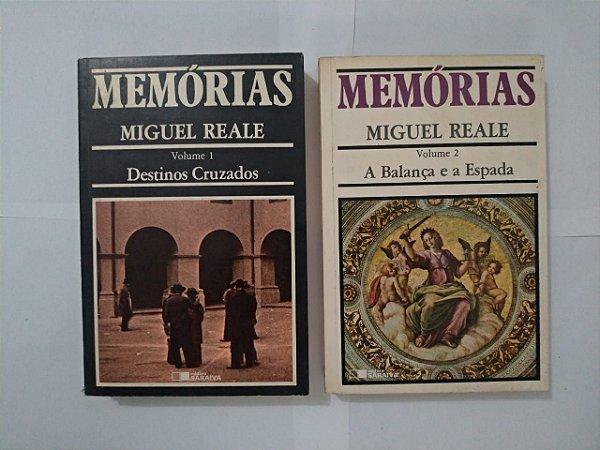Memórias - Miguel Reale (Volume 1 e 2)
