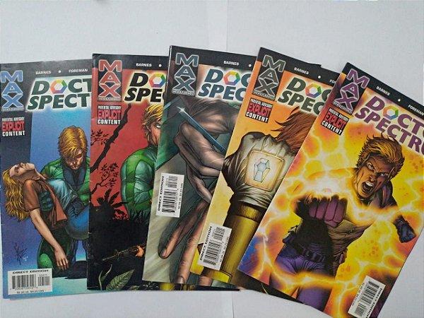 Coleção Doctor Spectrum - Max Comics C/5 volumes ( Leitura em inglês)
