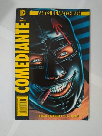 Antes de Watchmen: Comediante - Brian Azzarello e J. G. Jones