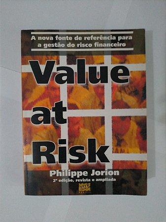 Valuet at Risk - Philippe Jorion