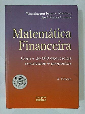 Matemática Financeira - Washington Franco Mathias e José maria Gomes