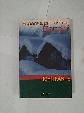 Espere a Primavera, Bandini - John Fante