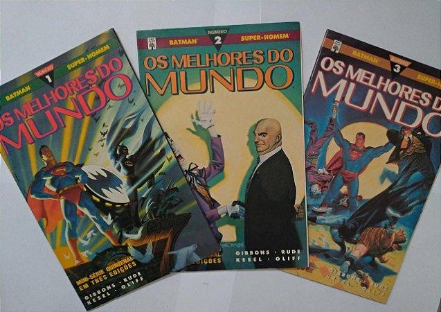 Mini-Série Batman e Super-Man: Os Melhores dos Mundo - Completa c/3 Edições