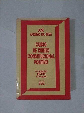 Curso de Direito Constitucional Positivo - José Afonso da Silva