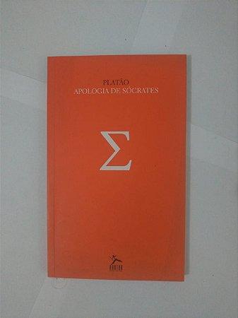 Apologia de Sócrates - Platão (capa laranja)