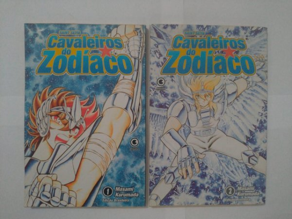 Cavaleiro do Zodíaco - Masami Kurumada ( Volumes 1 e 2)