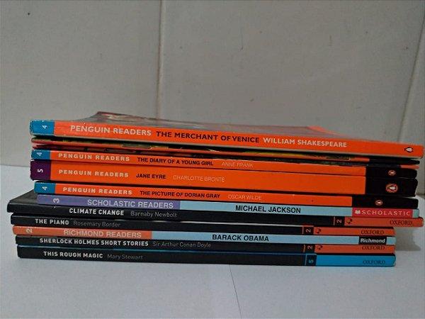 Lote de Livros em Inglês - C/12 Exemplares