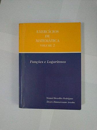 Exercícios de Matemática Vol. 2 - Álvaro Zimmermann Aranha e Manoel Benedito Rodrigues