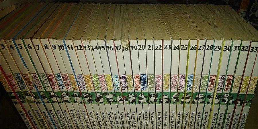 Coleção Mangá Ranma 1/2 - 1 ao 34