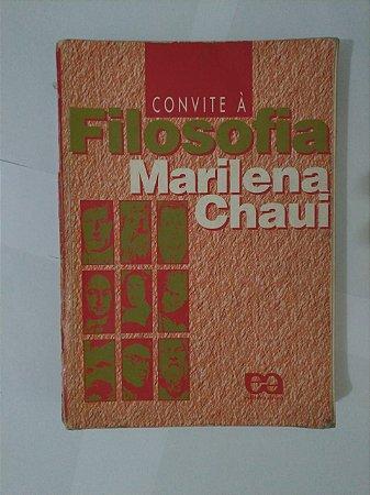 Convite à Filosofia - Marilena Chaui (Danificado)