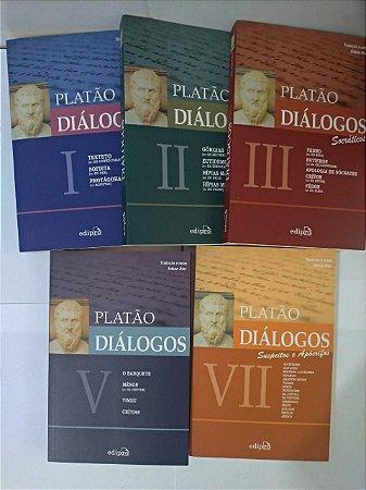 Coleção Diálogos - Platão C/5 volumes