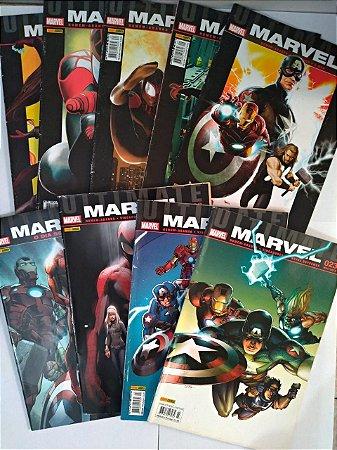Coleção Marvel:  Homem-aranha - Vingadores vs Novos Supremos - C/9 volumes