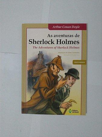 As Aventuras de Sherlock Holmes - Arthur Conan Doyle (Edição Bilíngue)