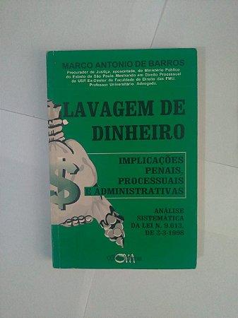 Lavagem de Dinheiro - Marco Antonio de Barros