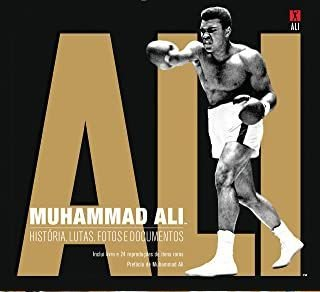 Livro Box - Muhammad Ali - Novo e Lacrado - Livro, lutas, fotos e documentos