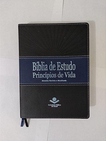 Bíblia de Estudo Princípios de Vida - Almeida Revista e Atualizada
