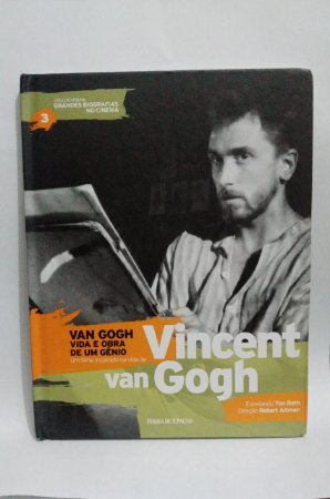 Van Gogh - Vida e Obra de um gênio - Coleção folha Grandes Biografias no Cinema - Biografia com DVD Filme