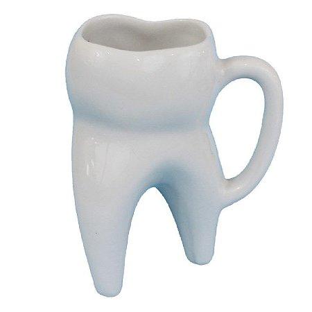 Caneca Dente Molar Branco