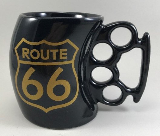 Caneca Soco Inglês Route 66 - Motorcycle