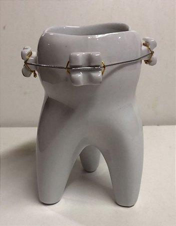 Porta Escovas Dente Molar Aparelho  ou Porta canetas , florês etc