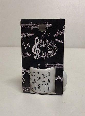 Mini Mugs - musica - Caneca Mini com Notas Musicais