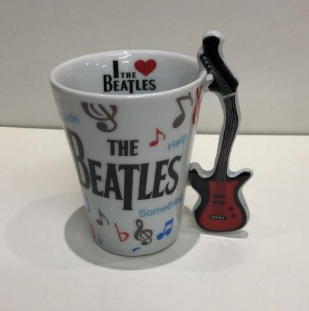 Caneca Musical Beatles