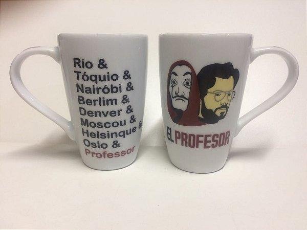 Caneca La Casa de Papel - El Professor