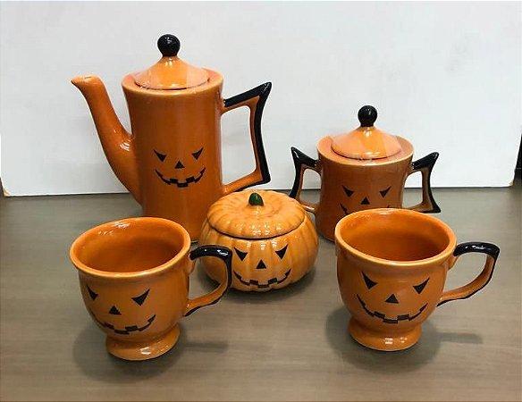 Jogo de Chá ou Café Modelo Halloween