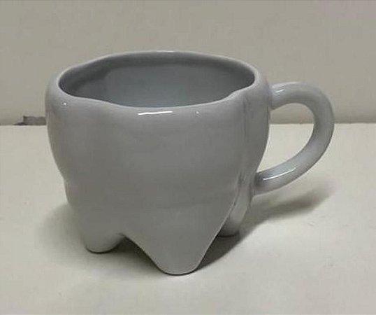 Xicara Formato Dente Branca 160 ml - Lançamento