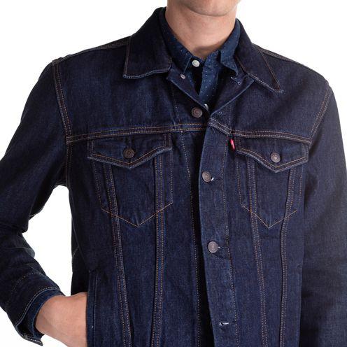 Jaqueta Jeans Levis Trucker  ref 723340134