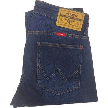 Calça Wrangler Slim com Elastano masculina - Cor Azul Claro REF - WM2003RT