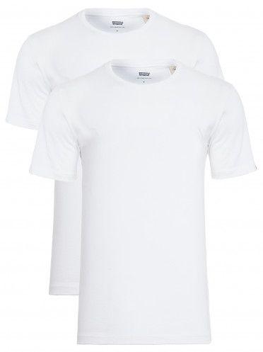 Kit Camiseta Levi´s - Cor Branco com Branco / masculina