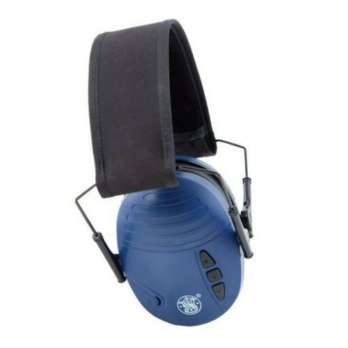 Abafador Eletrônico Tiro Esportivo Smith & Wesson 110042 Sigma NRR20 - Azul