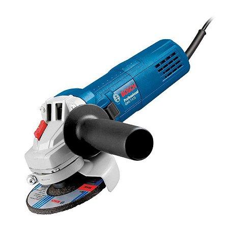 """Esmerilhadeira Angular 4/12"""" Bosch GWS 7-115"""