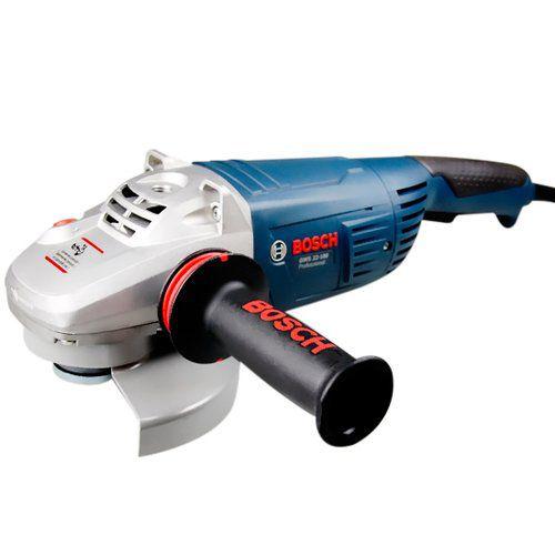 """Esmerilhadeira Angular 7"""" Bosch GWS 22-180"""