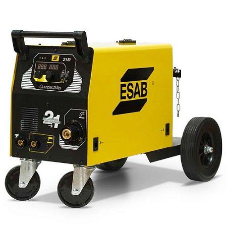 Maquina de Solda MIG/Inversora COMPACTMIG 215I ESAB
