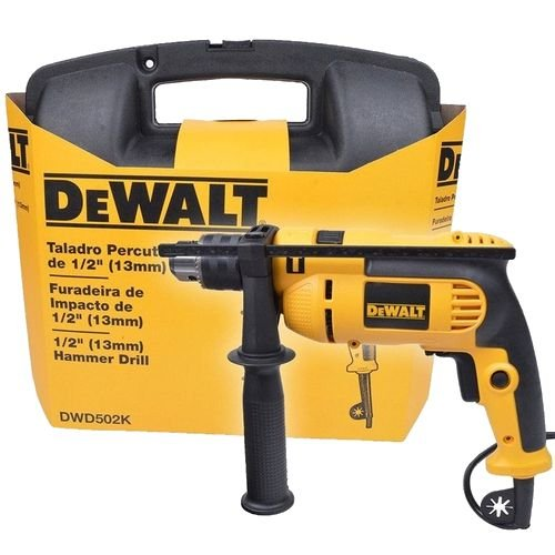 Furadeira De Impacto DeWALT DW502k ½ 13mm 710w
