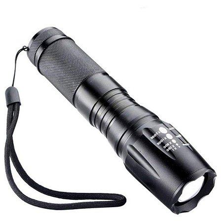 Lanterna Tática Militar com LED recarregável LK-X900 - LUATEK