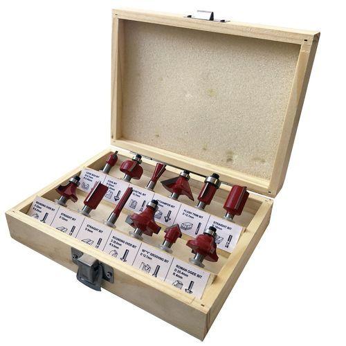 Jogo de Fresas para Tupia CHARBS com 12 peças 00020